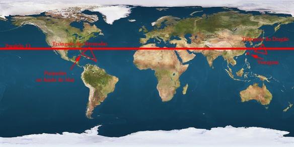 Triângulo das Bermudas e Triângulo do dragão 22