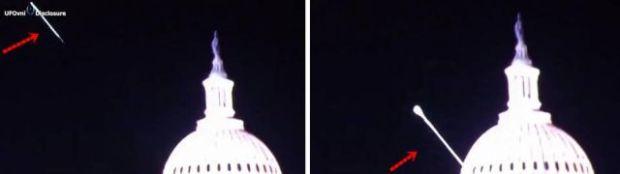 Oficial da Força Aérea Nave alienígena disparou um raio de luz e aterrou na base da Casa Branca [EUA] 3