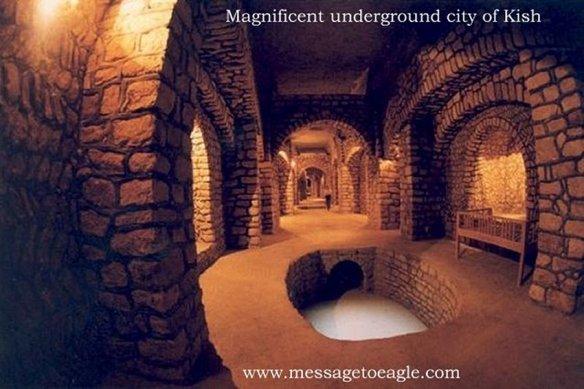 Antiga cidade subterrânia de Kish e o seu avançado sistema hidráulico 2
