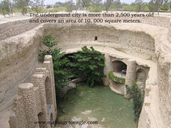 Antiga cidade subterrânia de Kish e o seu avançado sistema hidráulico 3