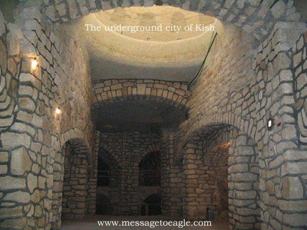 Antiga cidade subterrânia de Kish e o seu avançado sistema hidráulico 5