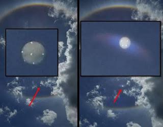 Estranhos feixes de luzes são vistos em todo o mundo 4