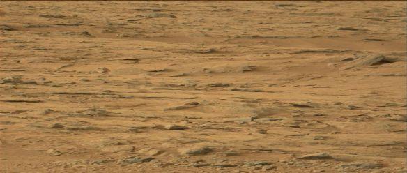 Imagens da NASA mostram estruturas na superfície de Marte 1