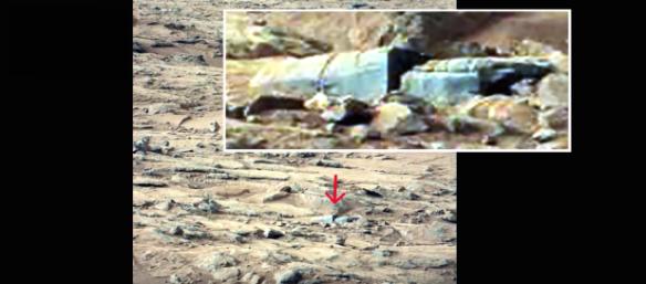 Imagens da NASA mostram estruturas na superfície de Marte 2