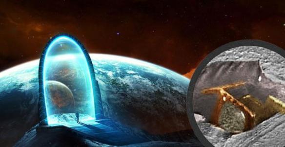 Antigo portal estelar descoberto em Marte 1