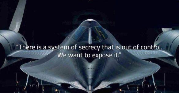 Petição para divulgação dos Programas Espaciais Secretos