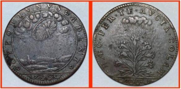 Será que esta enigmática moeda francesa fornece evidências históricas sobre avistamentos de ovnis 4