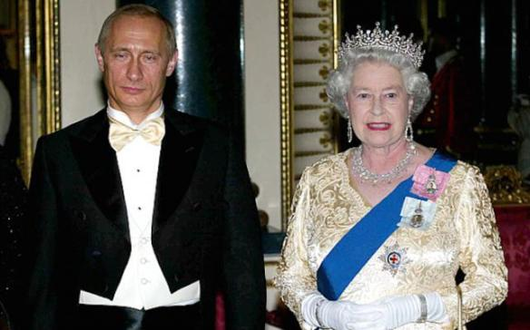Putin relata aos seus mais altos funcionários ''Eu vi com os meus olhos a rainha Elizabeth mudar de forma''